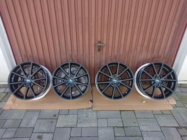Nowe Alufelgi RH 5x112 8Jx18EH2+ ET35 Black Matt Wysyłka Vw Audi Seat