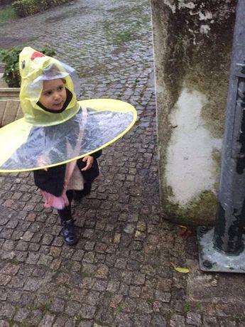 Capas de chuva