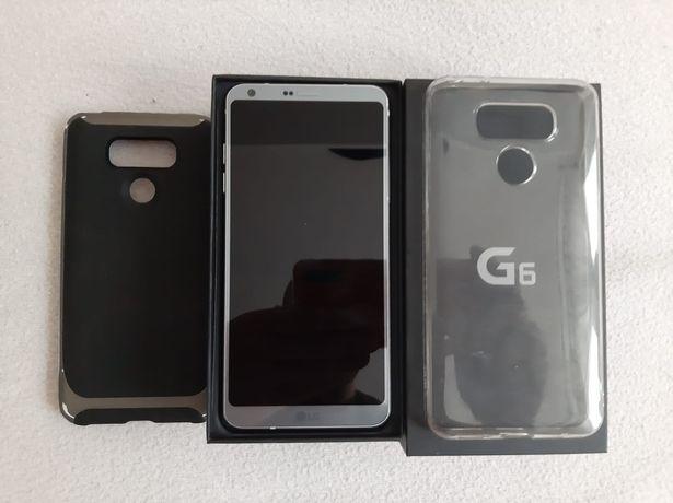 LG G6 Platinium stan bdb + etui