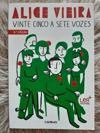 25 a 7 vozes, de Alice Vieira - Oferta de portes