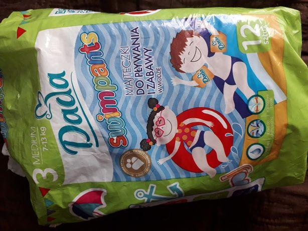 Majteczki do pływania dla dzieci 11szt Dada SwimPants 3 pieluchomajtki