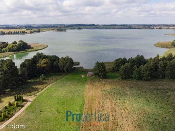 Piękna działka z dostępem do jeziora pod Olsztynem