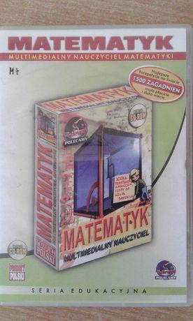 Matematyka. Multimedialny nauczycieli matematyki. cd rom