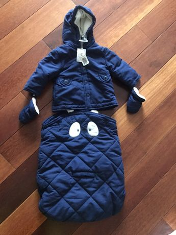 Детская куртка + спальник