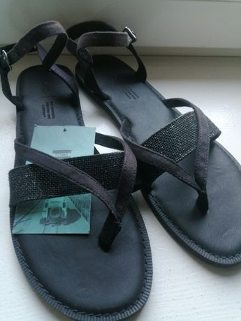 Sandałki TOMS czarne rozmiar 41