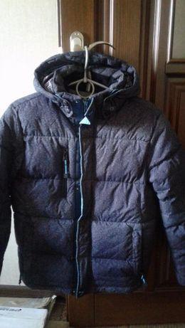Куртка зимняя на мальчика рост 140
