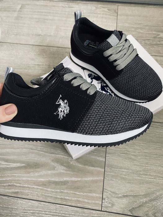 Sneakersy adidasy śliczne oryginalne nowe U.S Polo 31 Babienica - image 1