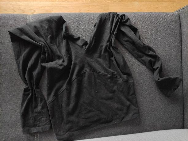 Dwie pary bawełniane leginsy spodnie ciążowe m do 9 miesiąca nosiłam