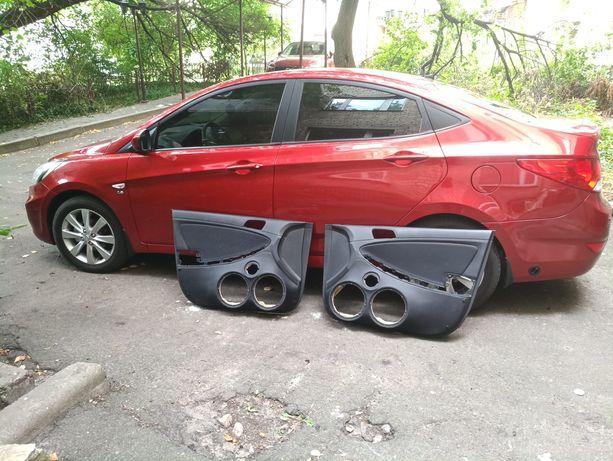 продам карты под громкий фронт / автозвук Hyundai Accent/Genezis 2012г