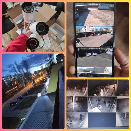 Камера на подъезд, балкон слежение за авто и детьми во дворе