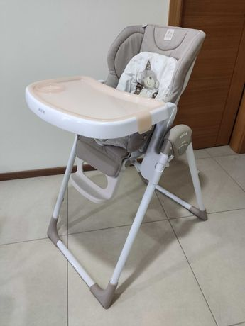 Cadeira refeição bebé JANÉ MILA + oferta luz de presença Chicco