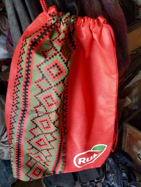 Рюкзак флизелиновый рекламный