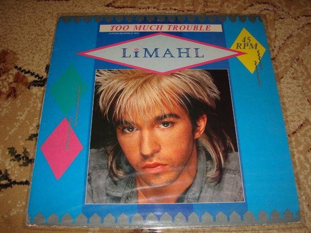 Płyty winylowe Limahl-Too Much Trouble Maxi