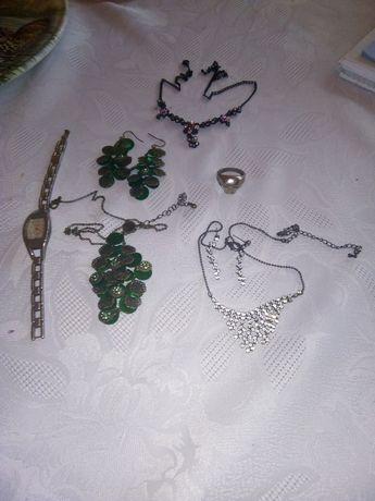 Mix biżuteria i zegarek