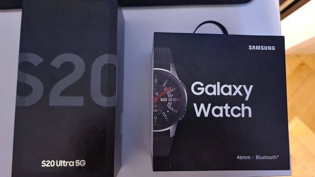 Samsung Galaxy s20 ultra + smartwatch samsung 46mm