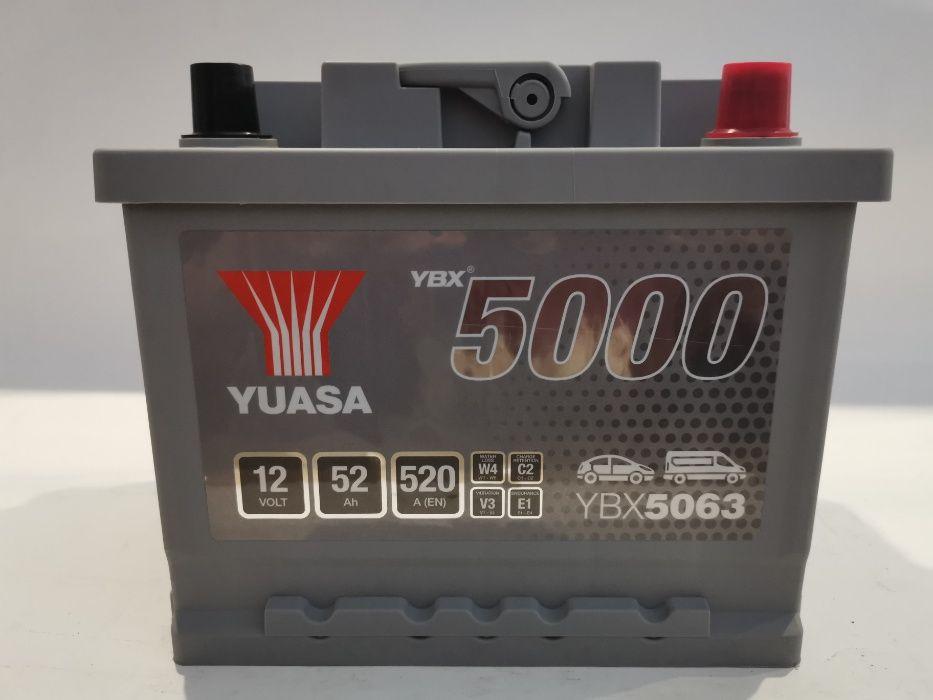 Akumulator YUASA YBX5063 52Ah 520A Promocja!!!
