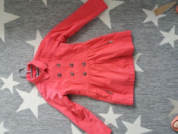 Płaszcz kurtka dziewczęca 134 SMYK