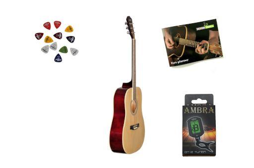 Gitara Akustyczna CountryMan NT CA-100 + Stroik + DarmowaWysyłka