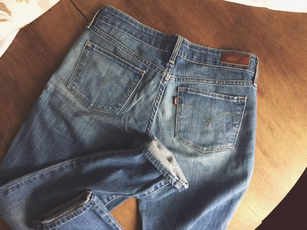 LEVIS jeansy Slight Curve r.27