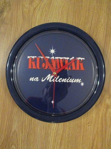 kolekcjonerski zegar ścienny Kujawiak Nowy Unikat gadżety piwne
