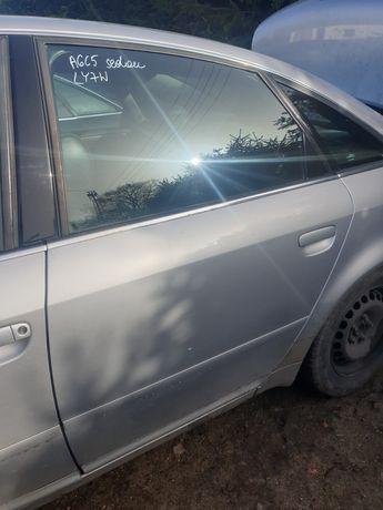 Audi a6c5 sedan drzwi lewe tył ly7w