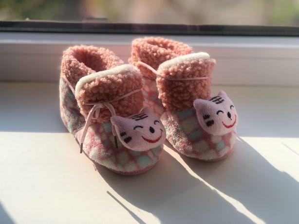 Домашні дитячі тапочки