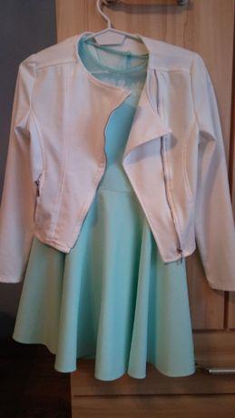 Sukienka wraz z żakietem