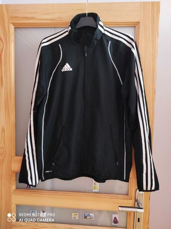 Adidas,3stripes climalite, nowa kurtka,bluza męska, orginalna ,czarna!