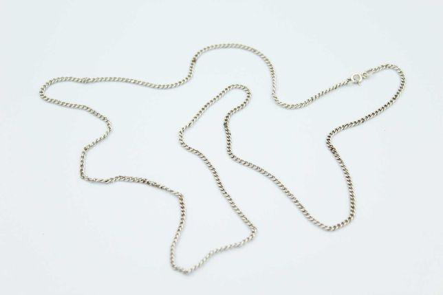 Długi srebrny łańcuszek -925- 70 cm