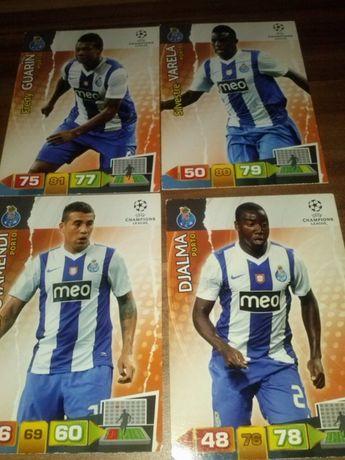 PORTO karty piłkarskie kolekcjonerskie PANINI Champions League 2011/12