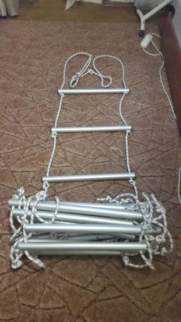 Веревочная лестница спасательная профессиональная - за 1 м/п