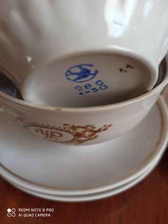 Продам чайные пары (СССР) и другую кухонную посуду