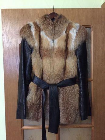 Куртка трансформер из лисы