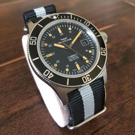 Часы Дайверы Glycine 42 48 Tissot Seiko Candino Edox Certina