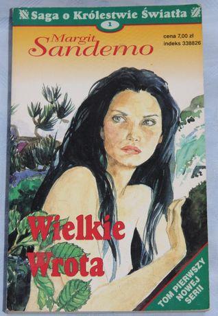 """Mergit Sandemo """"Wielkie Wrota"""" (Saga o Królestwie Światła - Tom 1)"""