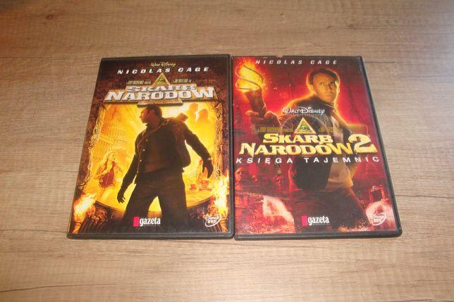 Skarb narodów 1+2 (2DVD) film Nicolas Cage