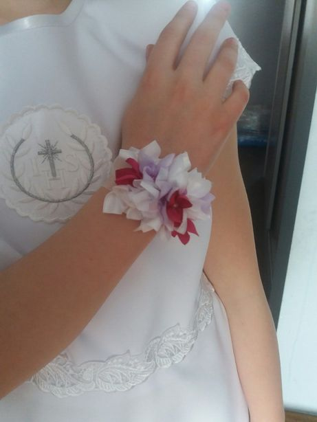 Ozdoba na rękę komunia, wesele, sesja foto-nowa