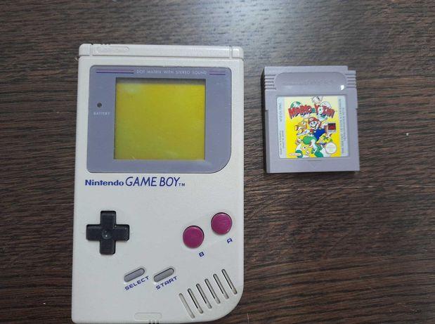 Game Boy DMG Classic + Mario Yoshi