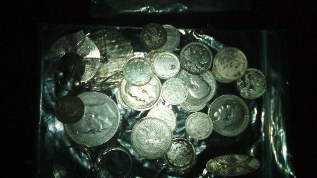 Монеты 21 штука царские