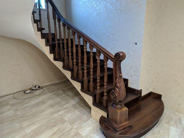 Виготовлення дерев'яних сходів під ключ