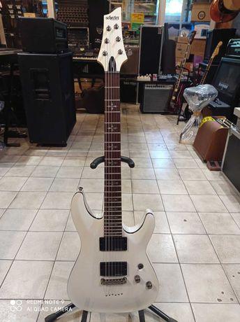 Schecter Demon-6 VWHT - gitara elektryczna - sklep GRAM Koszalin
