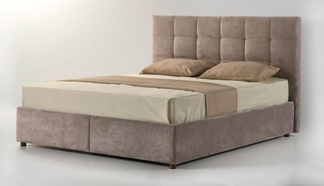 Мягкая двуспальная Кровать Letto H 160Х200 с Подъёмным механизмом