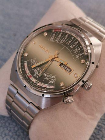 Zegarek Orient Cinkciarz Cesarski Królewski Patelnia Cyrkonie