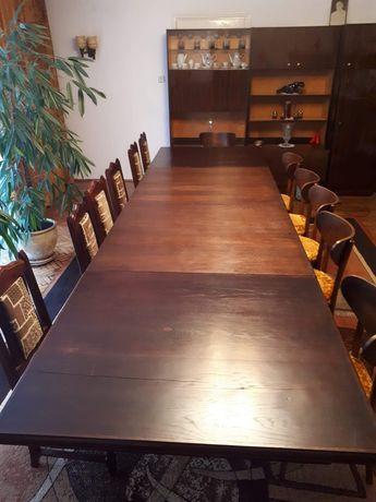 Drewniany stół dębowy antyk