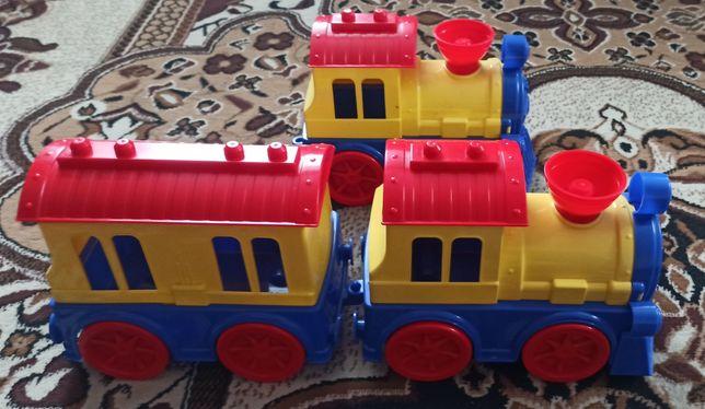 Трактор, поезд, экскаватор