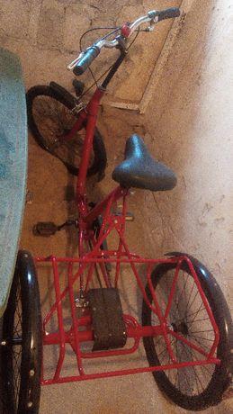 rower 3 kołowy trzy koła inwalidzki starszych trzykołowy trójkołowy