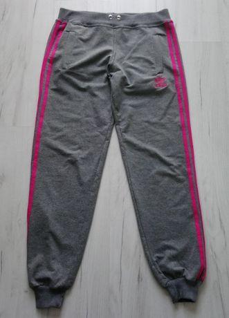 Piękne damskie spodnie dresowe treningowe Adidas Originals M bawełna