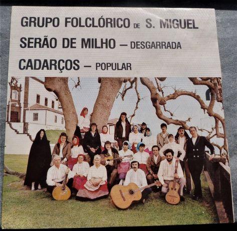 """Grupo Folclórico da Ilha de S. Miguel Açores "" Disco vinil"