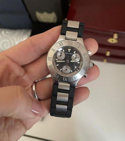Часы Cartier Chronoscaph 21
