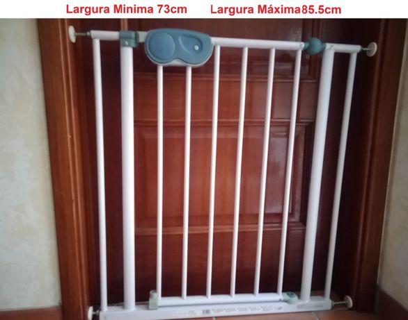 Grade / Barra de Segurança Extensivel para protecção de escadas ou por